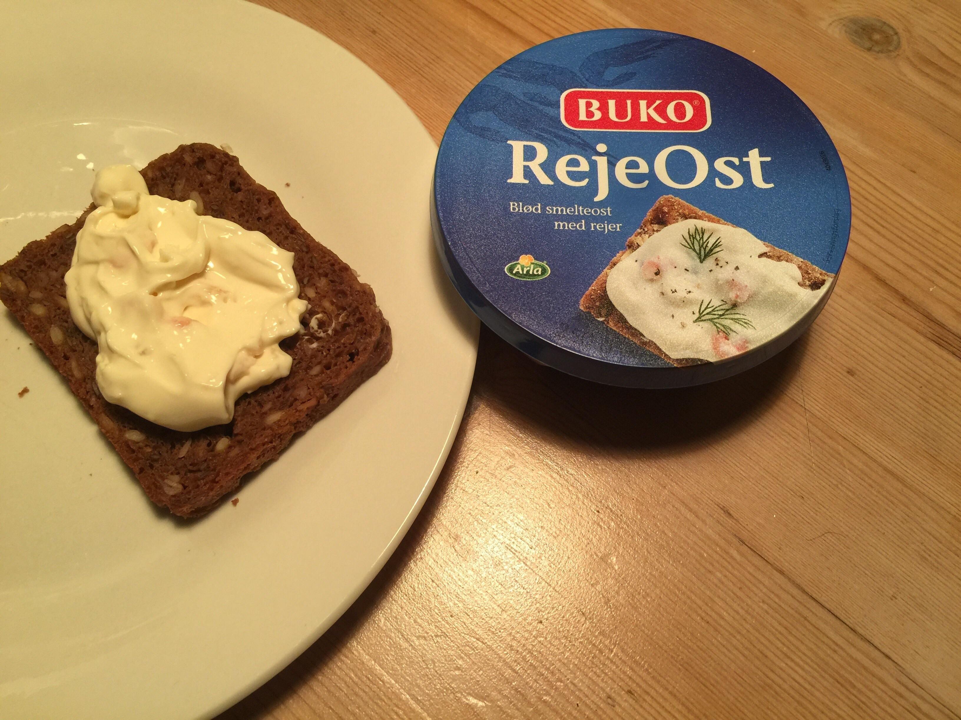 Danish Shrimp Cheese on Rye bread. [I ate] http://ift.tt/2rbrN70