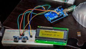 Ultraschall Entfernungsmesser Bausatz : Arduino ultraschall entfernungsmesser mit i²c lcd display! gunook