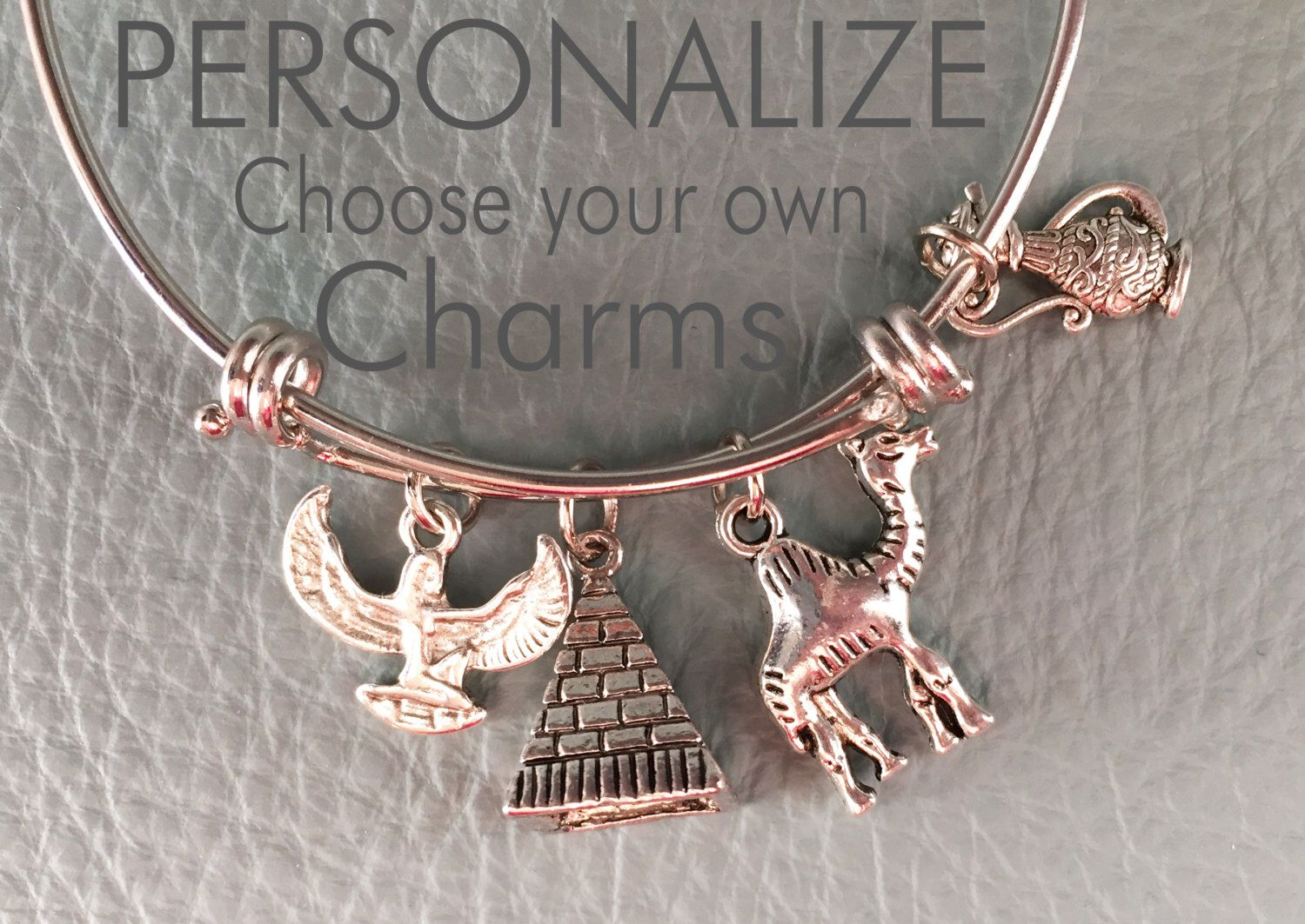 A personal favorite from my Etsy shop https://www.etsy.com/listing/228281951/walk-like-an-egyptian-customize-alex-ani