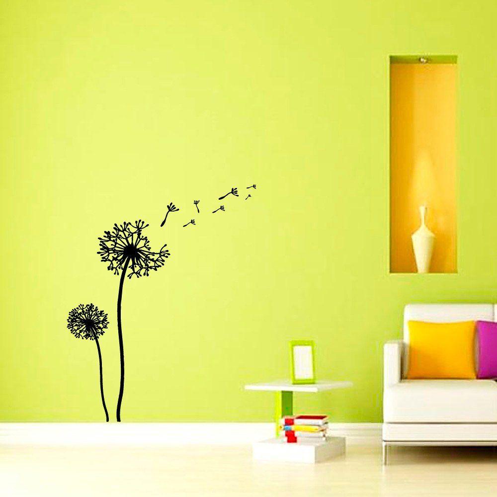 Wall Decals Dandelion Flower Nursery Art Bedroom Vinyl Sticker Wall ...