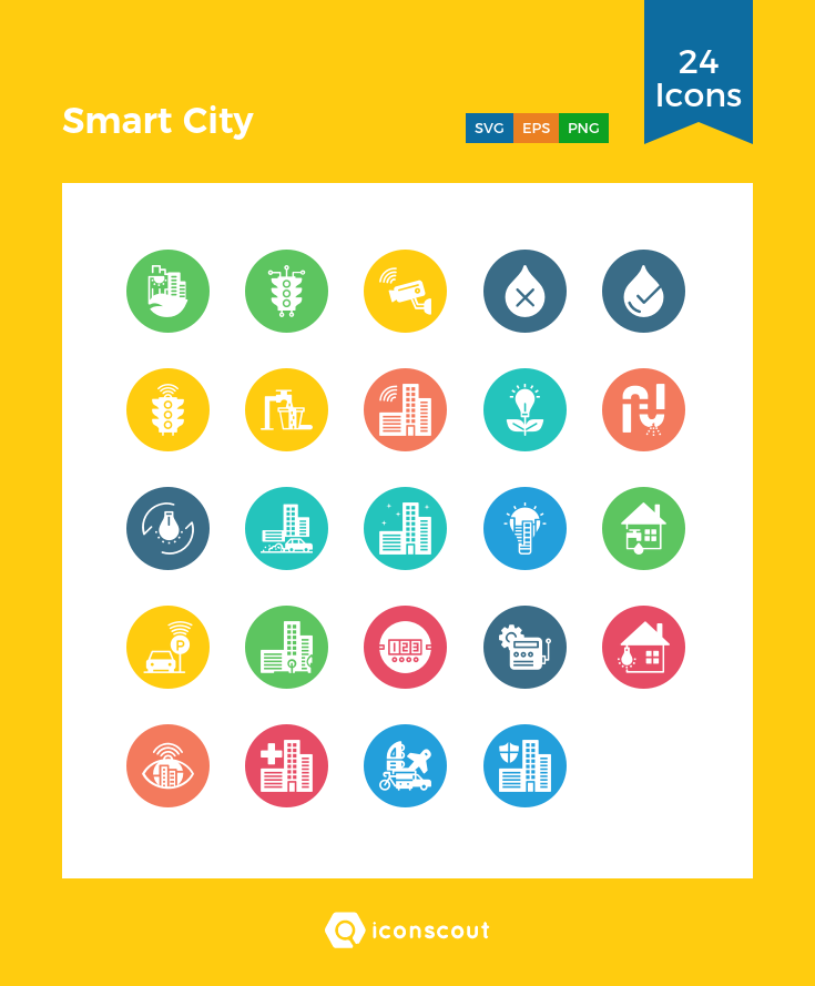 Download Smart City Icon Pack Available In Svg Png Eps Ai Icon Fonts City Icon Smart City Icon Pack