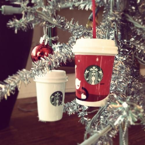 Starbucks christmas ornaments | I drink coffee | Pinterest ...