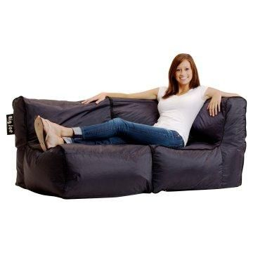 Astonishing Big Joe Zip Modular Sofa Stretch Limo Black Home Decor Squirreltailoven Fun Painted Chair Ideas Images Squirreltailovenorg