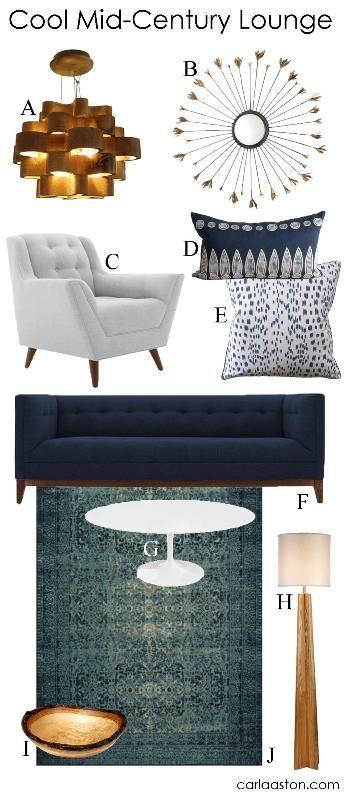 GET THE LOOK: 10 Must Have Mid Century Styled Furnishings U0026 Decor!