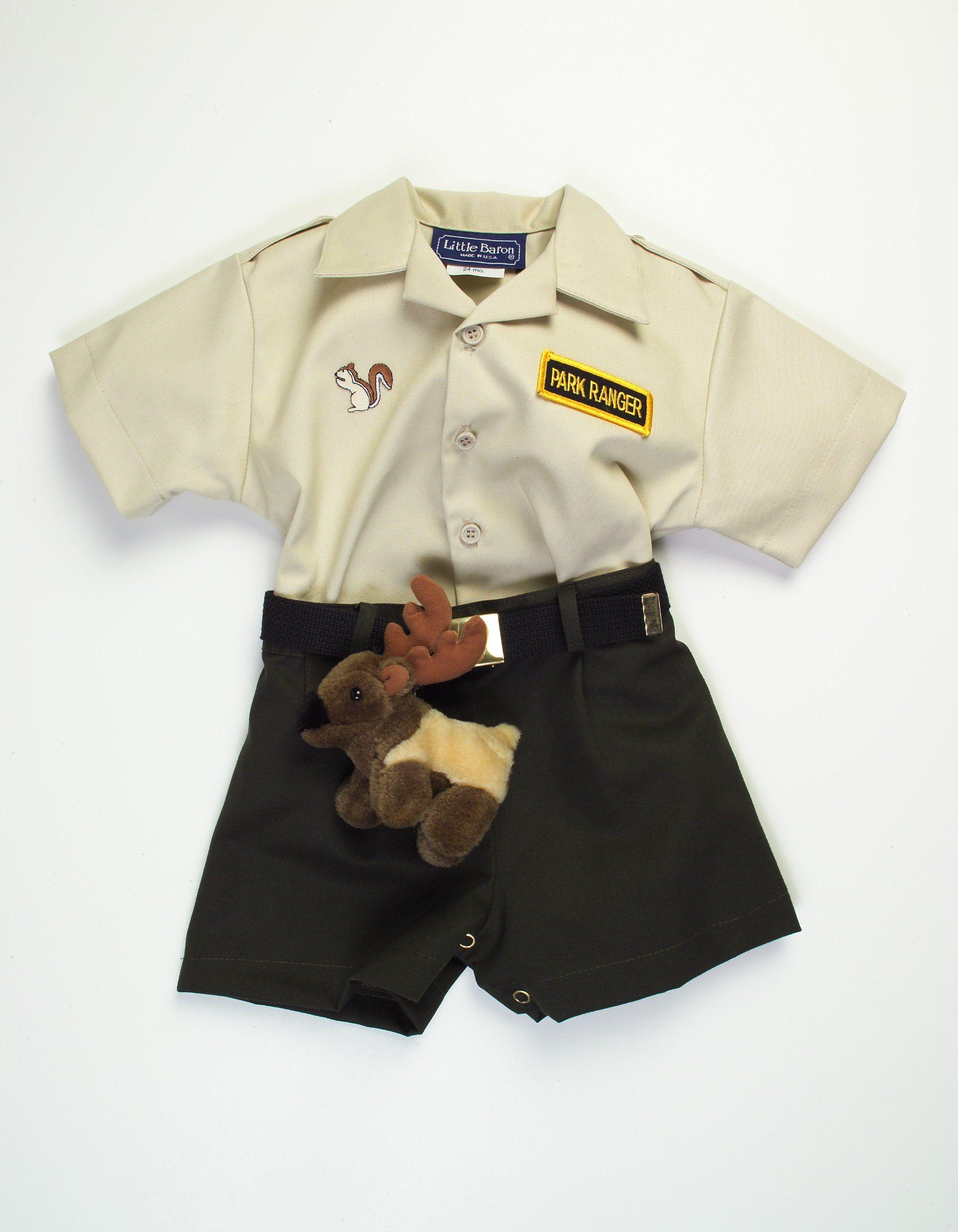 infant & toddler park ranger outfit (12 mo) | jungle safari party