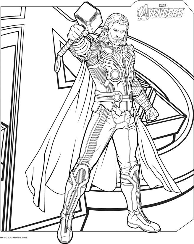 Pin by Tammi Sheridan on Color Me | Pinterest | Thor, Digi stamps ...