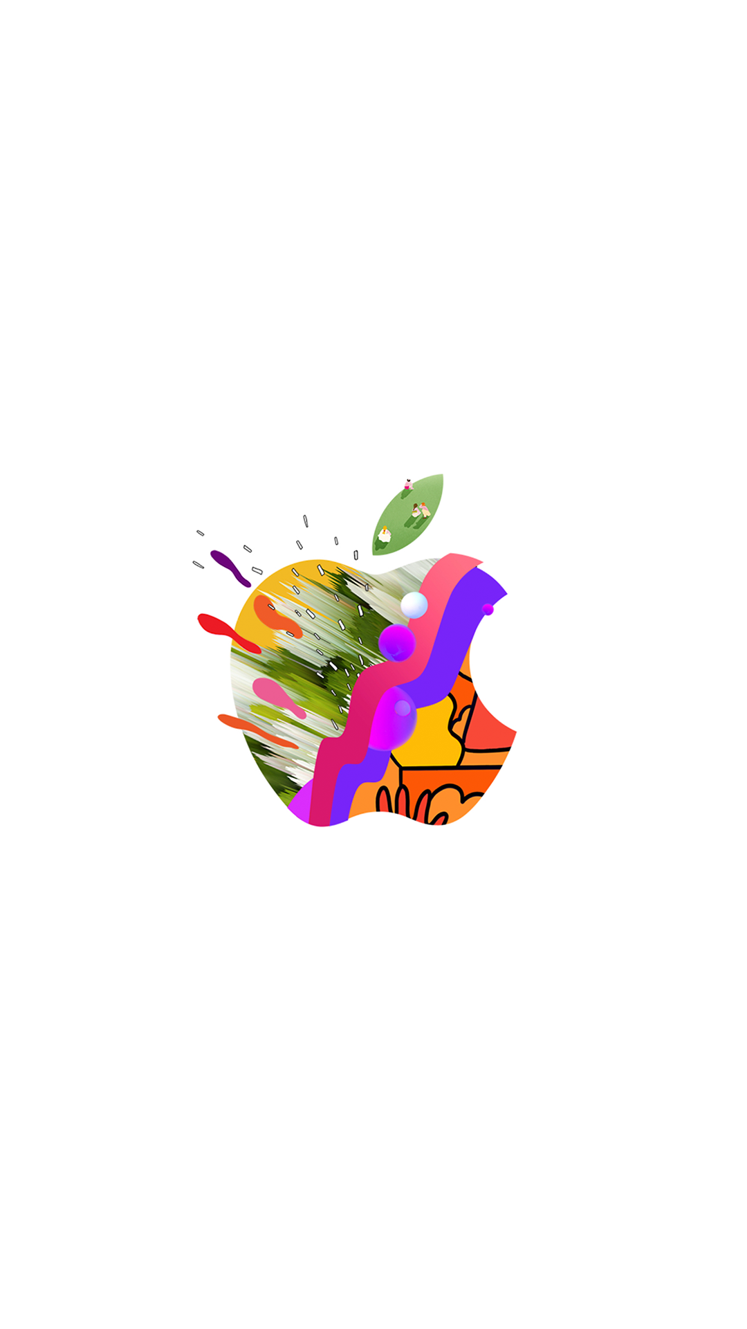 Milan Apple Store And Iphone Xs Event Inspired Wallpapers Hypebeast Iphone Wallpaper Apple Logo Wallpaper Iphone Iphone Wallpaper Logo