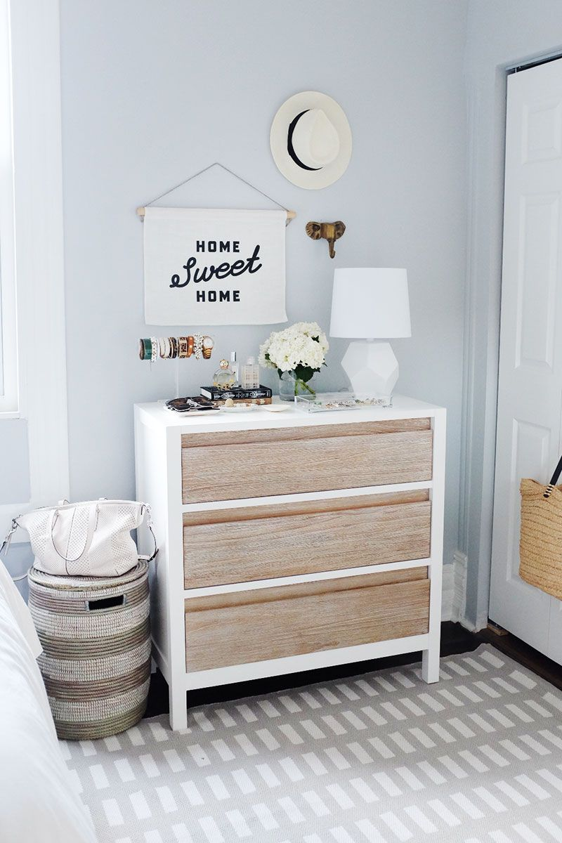 2 Ways To Make The Most Of Styling Your Dresser The Everygirl Bedroom Decor Dresser Decor Dresser Top Decor