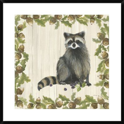 Woodland Critter I Poster Print by Patsy Ducklow 24 x 24