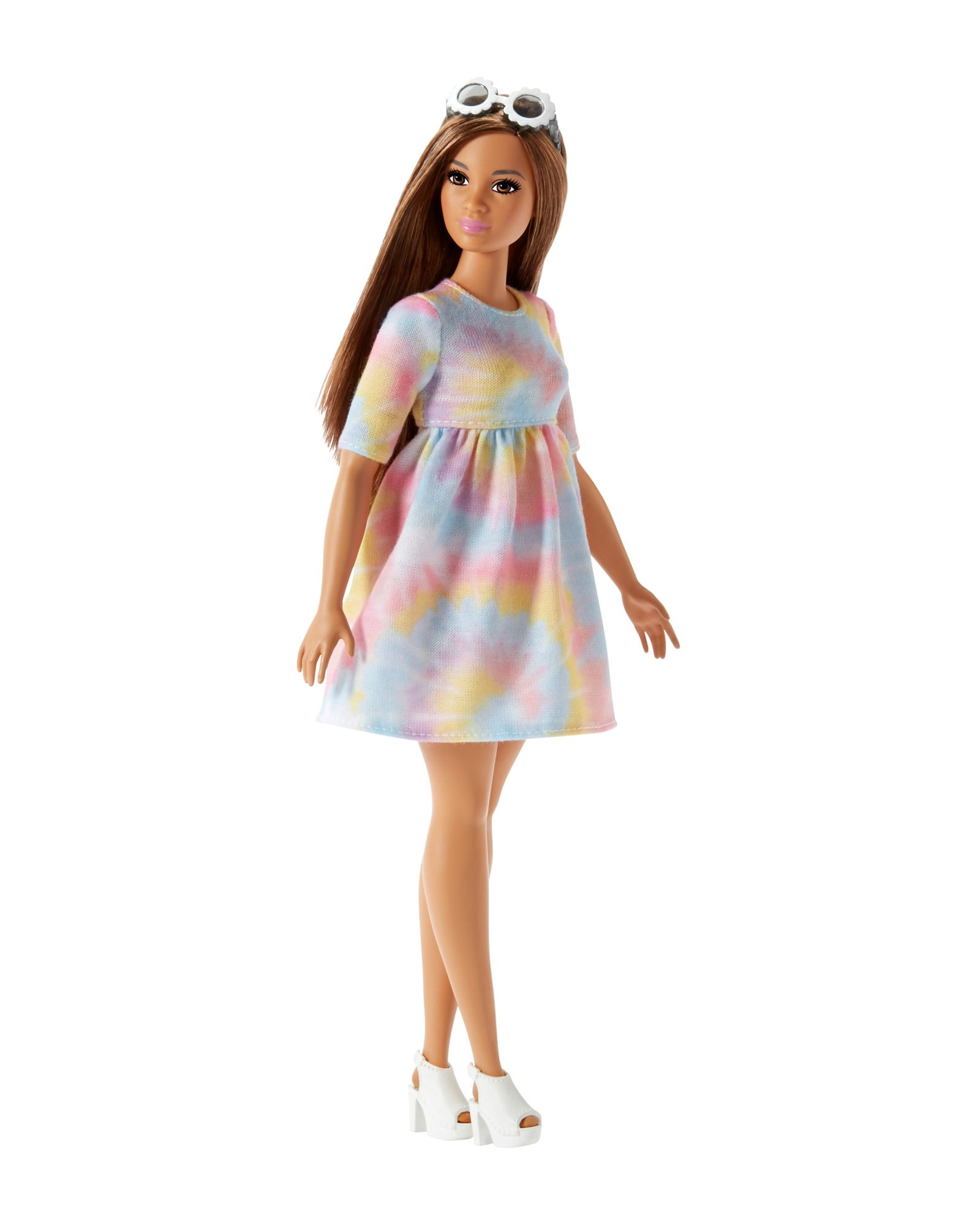 METALLIC LIGHT BLUE  Dress FOR TALL /& Original fashionista BARBIE body
