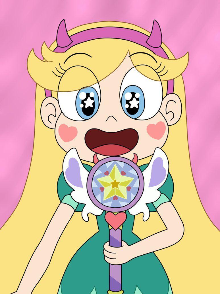 Star Butterfly has made a new wand herself by Deaf-Machbot on DeviantArt