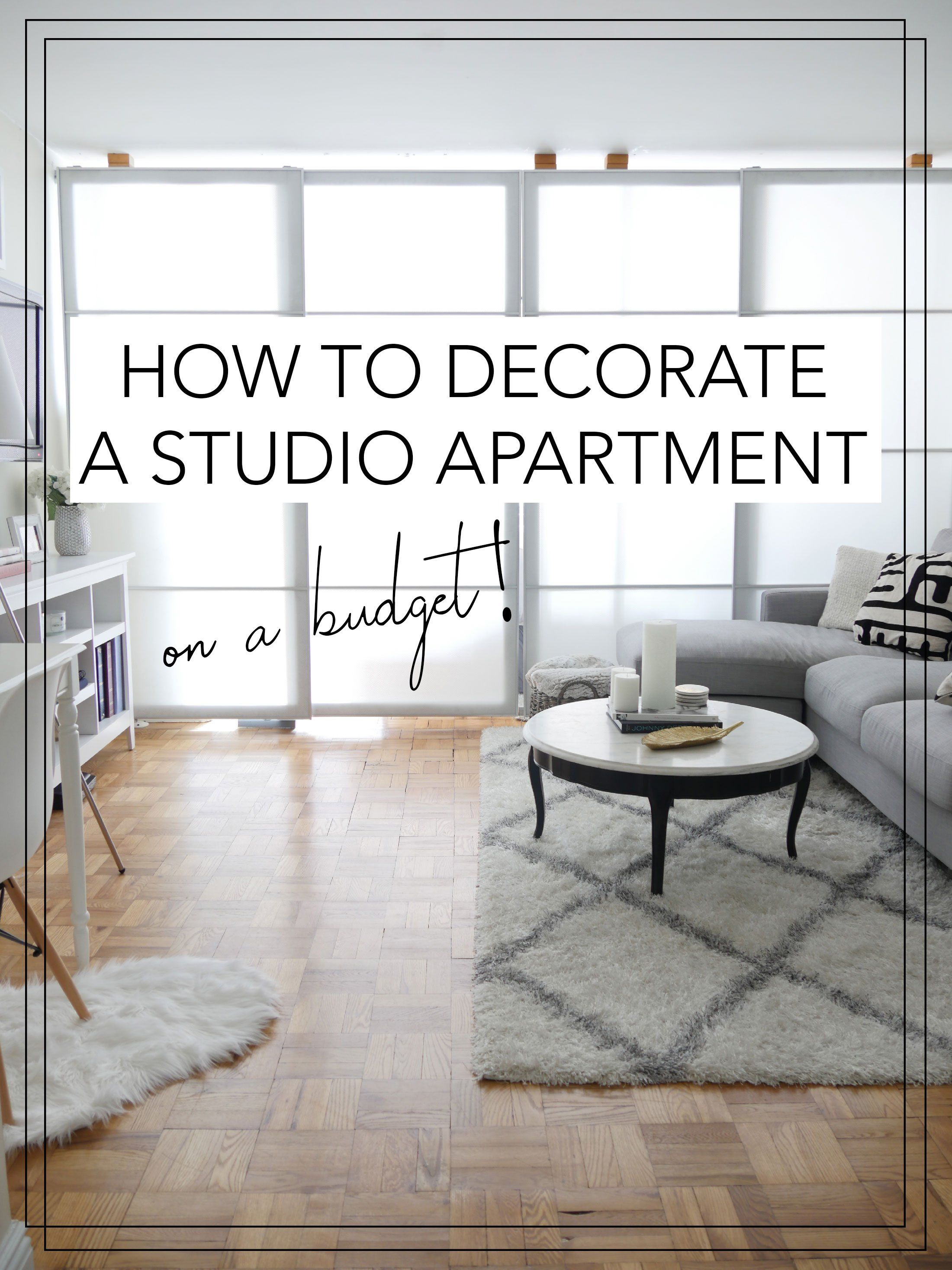 Live In A Studio Apartment And Need To Create Room Divider Some Ideas Learn How Here