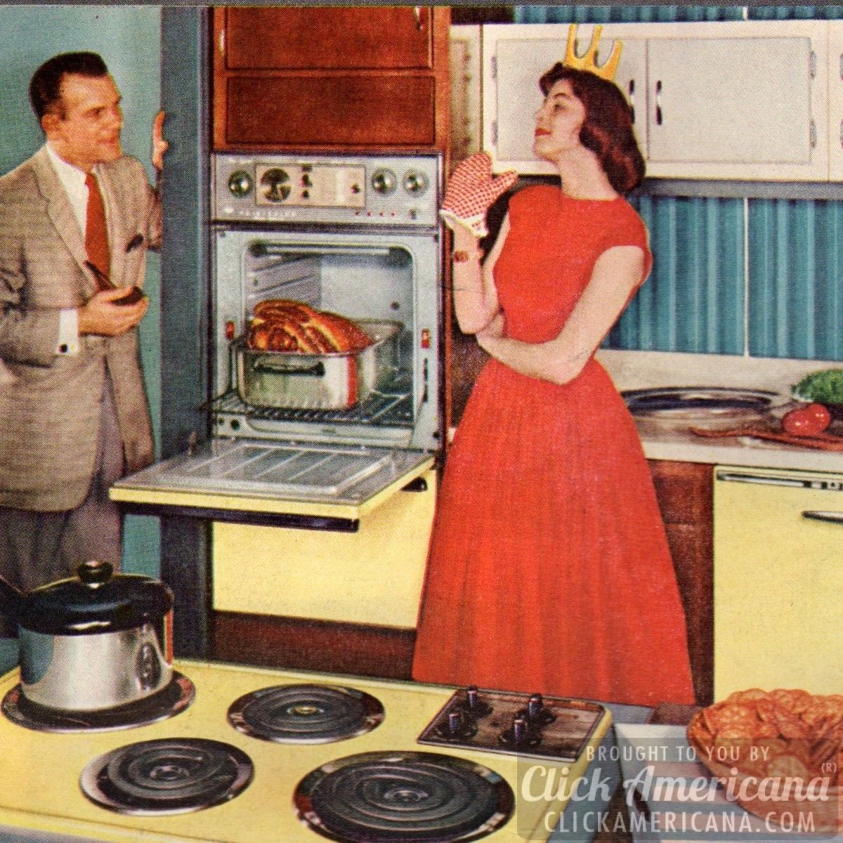 How to be a perfect 39 50s housewife in the kitchen for Classic housewife