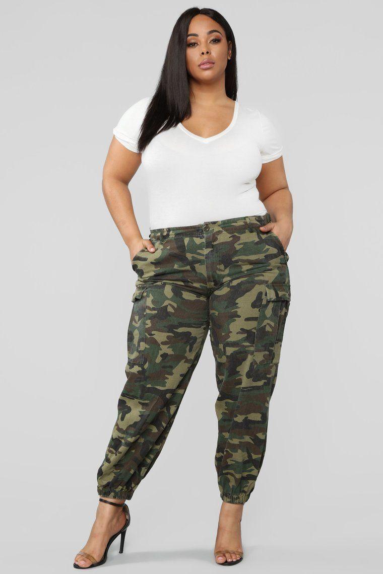 Cadet Kim Oversized Camo Pants – Camo