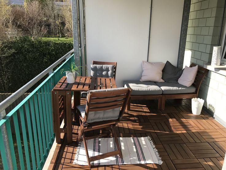 Balkoneinrichtung für Idee ikea balkonmöbel Idee für ...