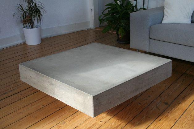 Betontisch Beton Couchtisch Plato Nur Abholung Concrete Concrete