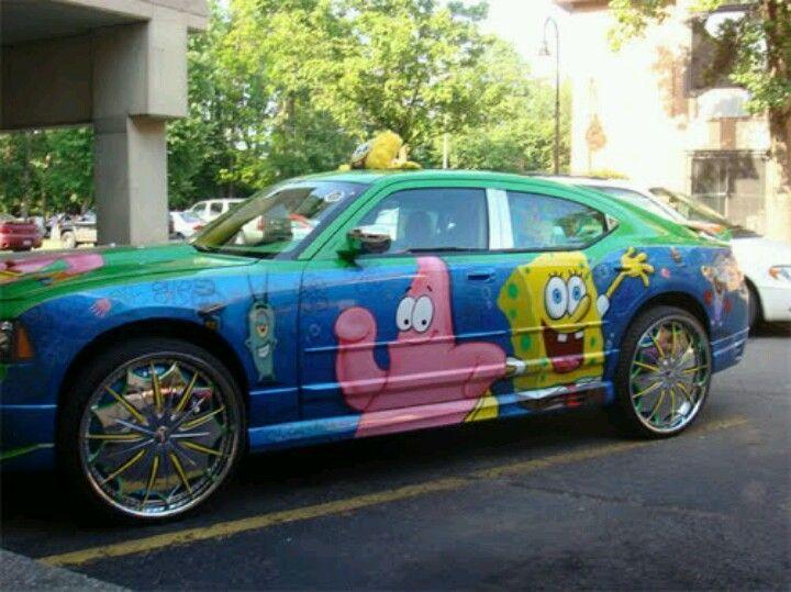Spongebob Car Nice Custom Cars Pinterest Nice Cars And - Spongebob decals for cars