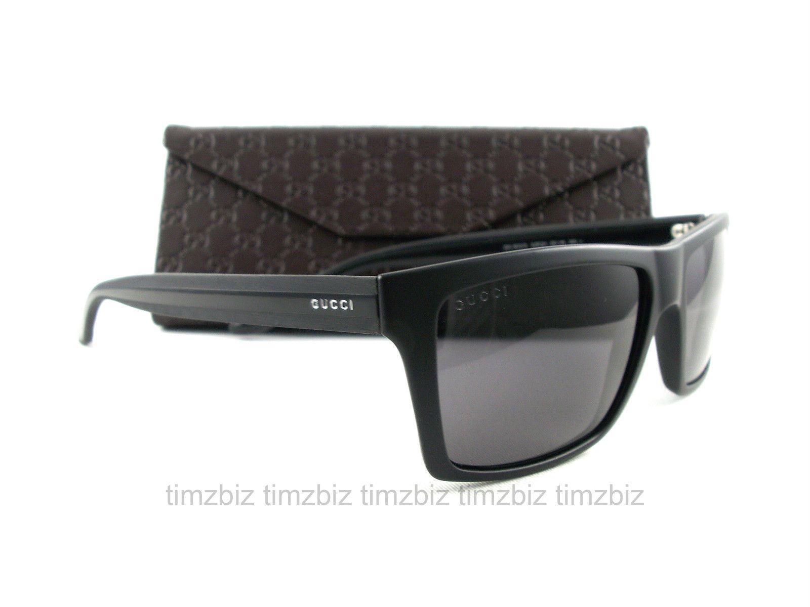 cca4d385836 New GUCCI Sunglasses GG 1013 S Black Polarized 52R3H Authentic ...