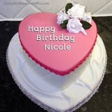 Image Result For Happy Birthday Nicole Cake Images Cake