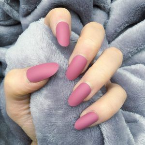wild berry matte oval  taupe nails nail paint shades