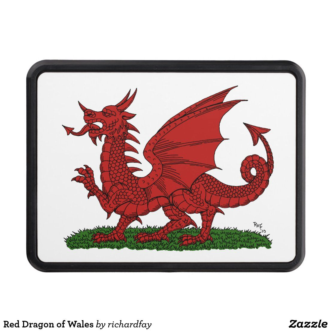 Red Dragon Of Wales Tow Hitch Cover Zazzle Com In 2020 Red Dragon Acrylic Prints Canvas Prints [ 1106 x 1106 Pixel ]