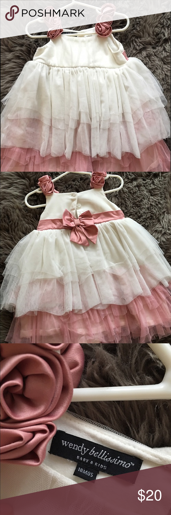 Baby girl Easter dress Beautiful dress for a baby girl. Wendy Bellissimo Dresses Formal