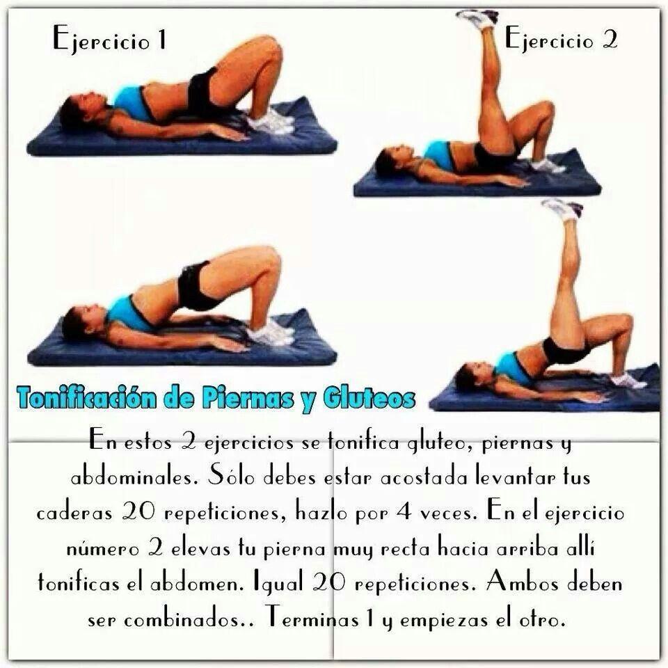 Ejercicios para adelgazar abdomen y gluteos