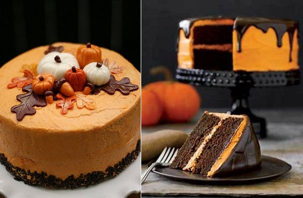 Halloween cake recipes pumpkin patch cake by Whatever Whimsy Blog
