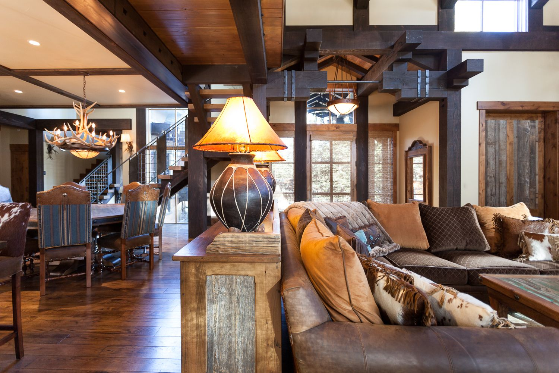 Austin Cabin High Camp Home Interior Design Truckee Ca Rustic