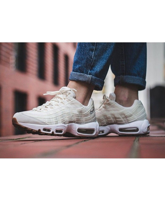 Nike Air Max 95 OG SailLight BoneGum Medium Brown Women's