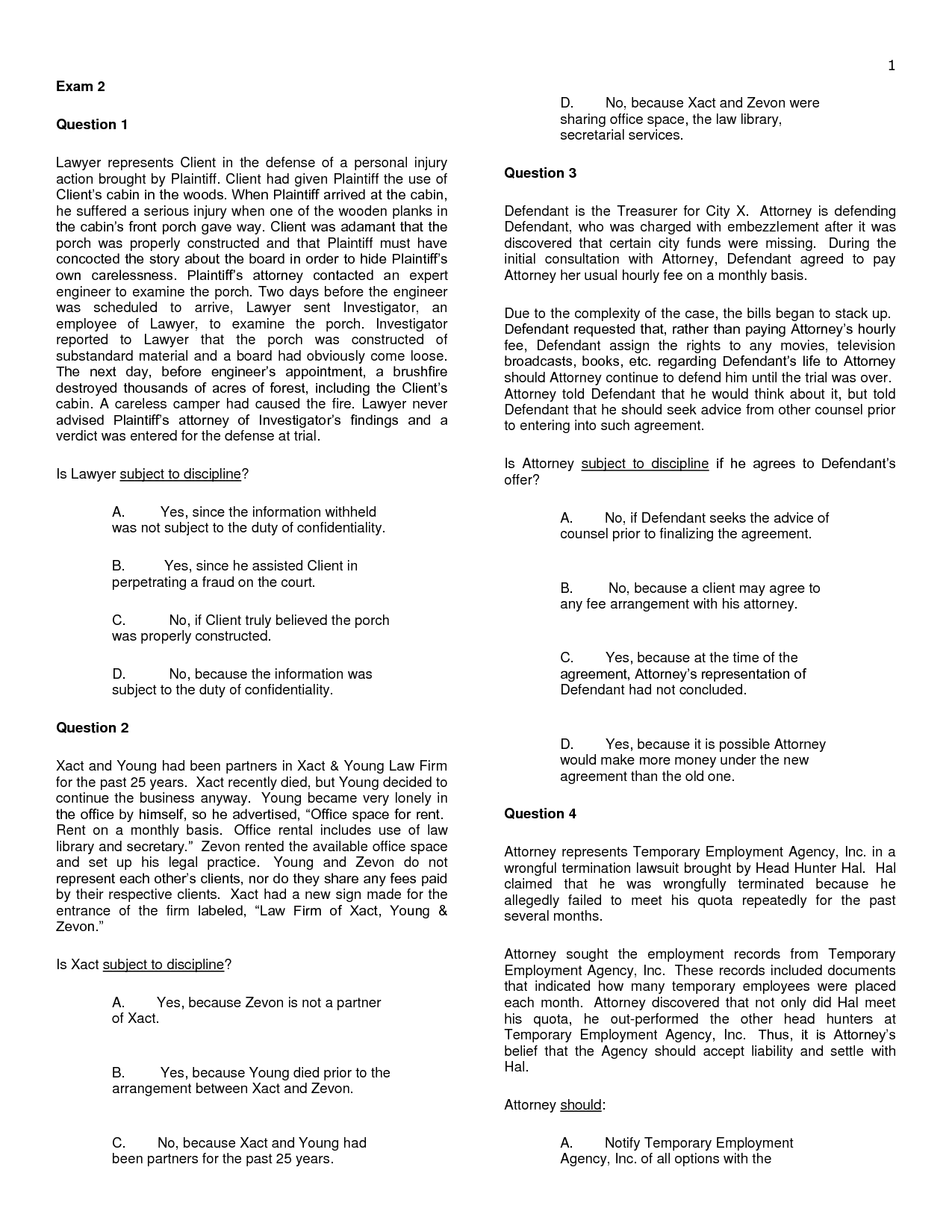 Divorce Attorney Client Retainer Agreement Letter Sample