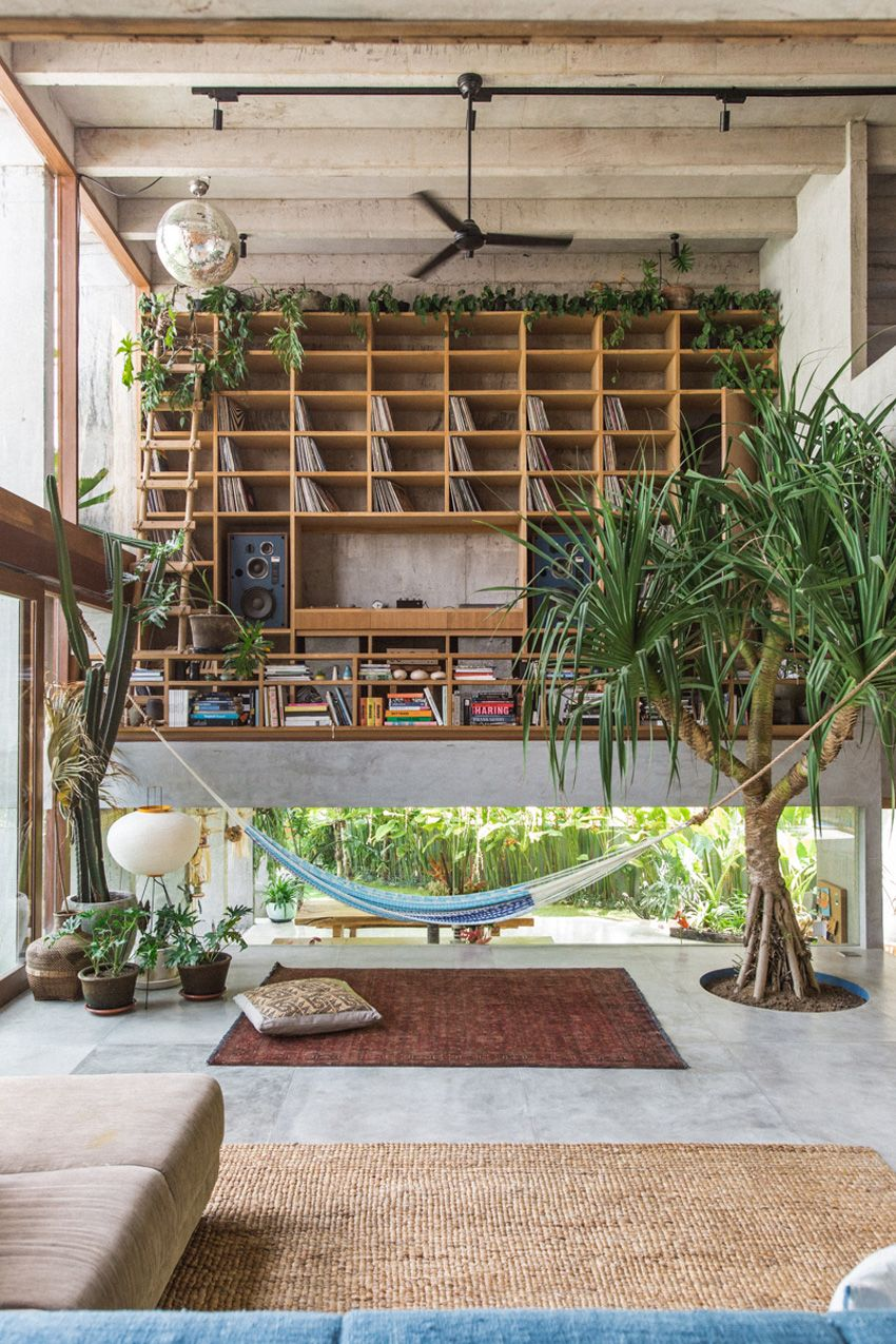 Daniel Mitchell's Concrete House in Bali by Patisandhika is part of Daniel Mitchells Concrete House In Bali By Patisandhika - The Bali home of Daniel Mitchell, Creative Director of the Potato Head Group and owner of record label Island of the Gods, is truly a tropical paradise