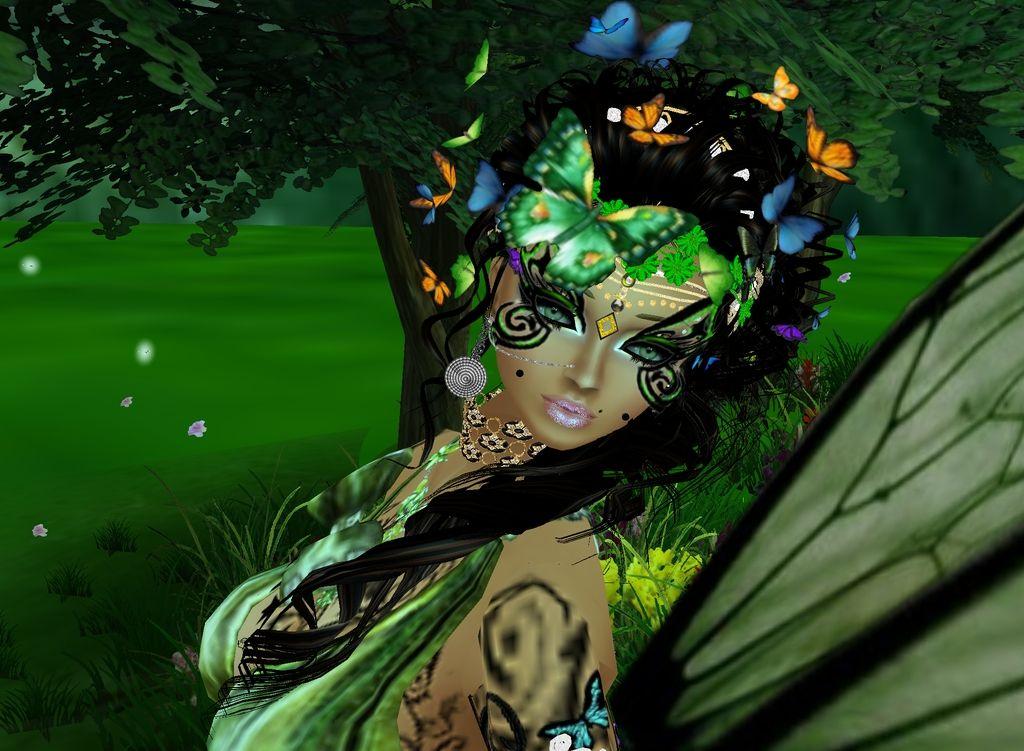 Schmetterling Girl