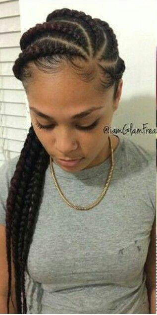 Goddess Braids For The Beach African Braids Hairstyles