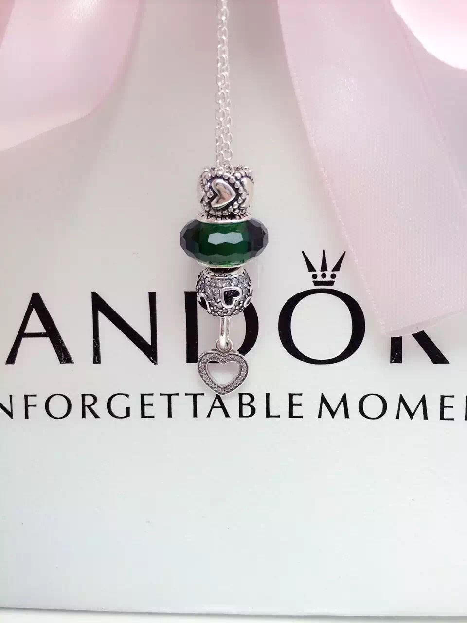 Pandora Charm Necklace. Hot Sale!!! SKU