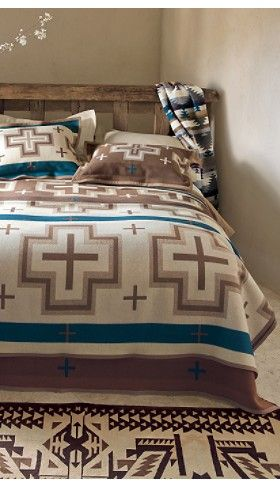 Pendleton Mocha San Miguel Blanket Collection