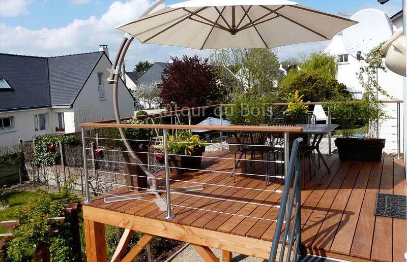 Élégant Veranda Collection De Combien Coute Une Veranda De 30m2 | Terrasse bois, Terrasse sur ...