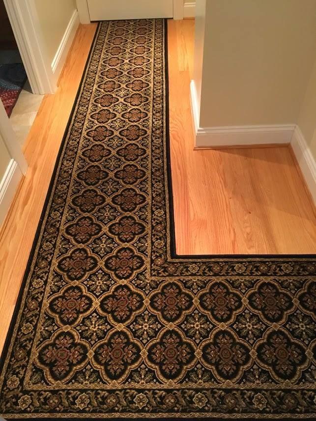 2017 Kane Dynasty Black Ming Custom Bound Fabricated Roll Runner Cheap Carpet Runners Carpet Runner Flooring