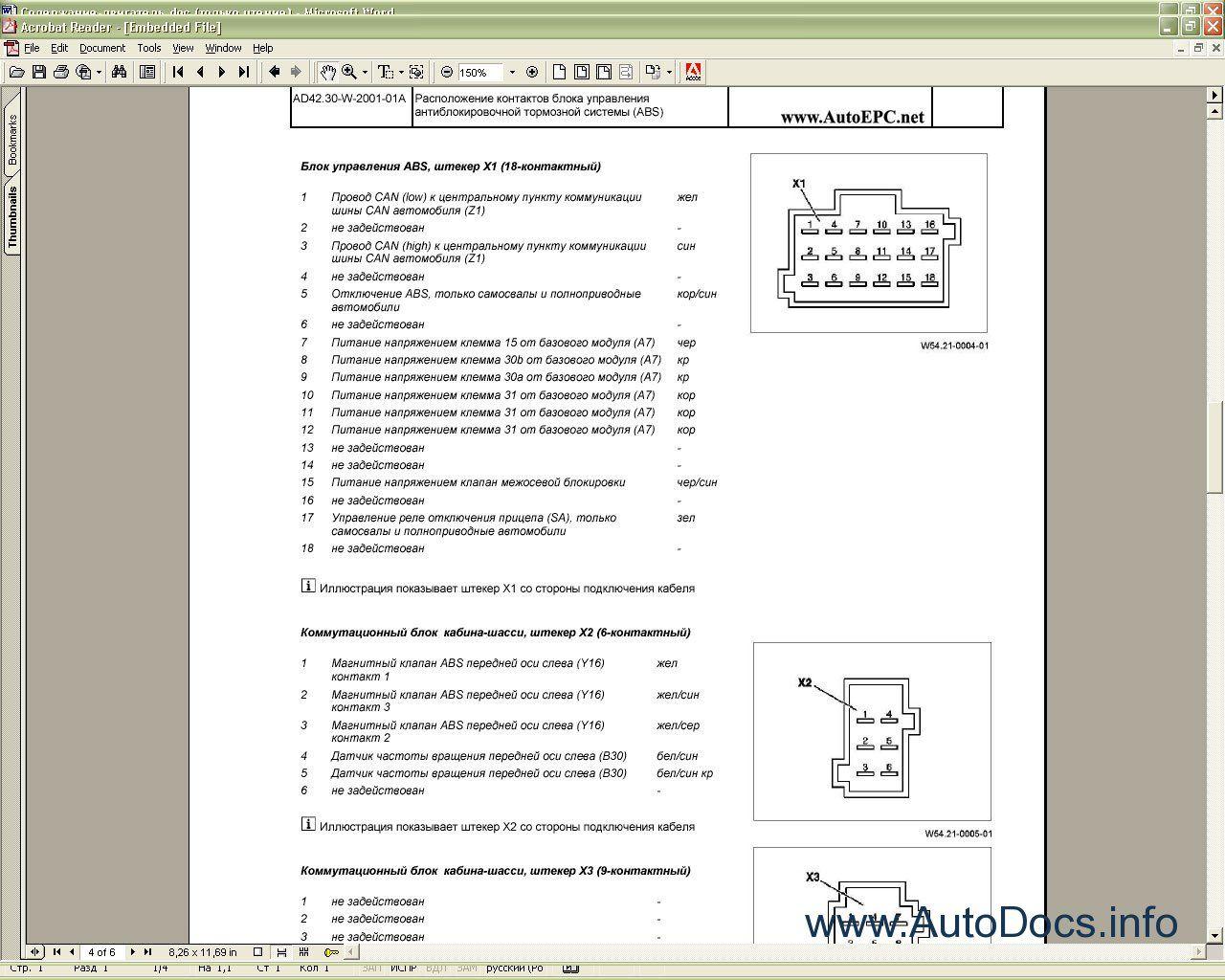 Service Manual mercedes actros Vito 112 cdi