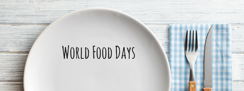 World Food Days Calendar 2020 in 2020 International food