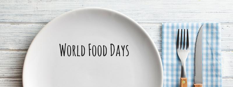 World Food Days Calendar 2020 in 2020 | International food ...