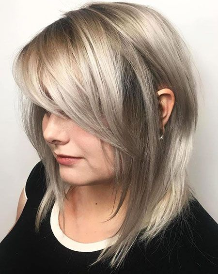 18 Layered Bob Frisur Mit Fransen Hairstyles For Me Hair Bangs