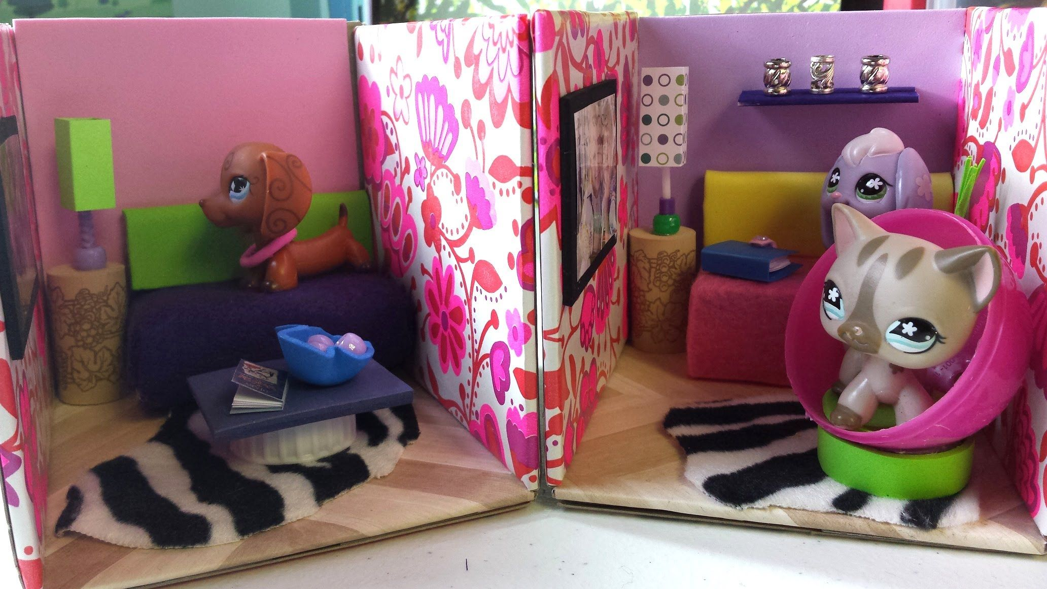 How To Make Cute Lps Living Rooms Dollhouse Diy Lps Crafts Diy Dollhouse Lps Diy Accessories