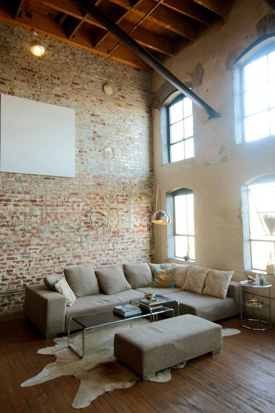 Pin By Bella Storia On Industrial House Rustic Industrial Living