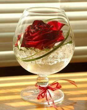 Im glas #rustikaleweihnachtentischdeko