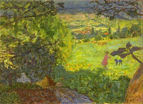 Painting Title: Landscape, Undated | Artist: Pierre Bonnard (1867-1947) | Medium: Fine Art Painting Reproduction by TOPofART.com
