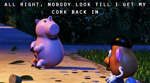 Hamm The Piggy Bank Toy Story 2 1999 All Right Nobody Look Till I Get My Cork Back In Http Celebquote Com 4107 Toy Story Quotes Disney Quotes Funny Disney Funny