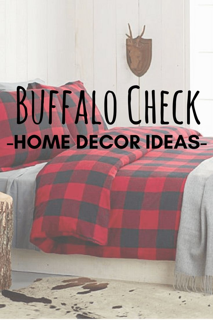 Decorating With Buffalo Plaid Home Decor Ideas Home