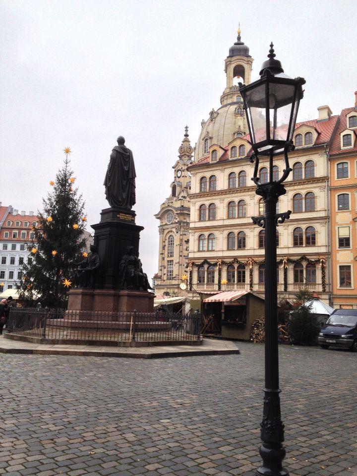 Dresden Altstadt im Advent 2014