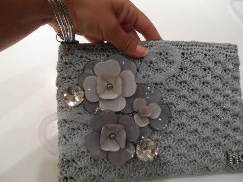 Idee Creative Cucito : Bustina da polso a uncinetto tutorial cucito creativo
